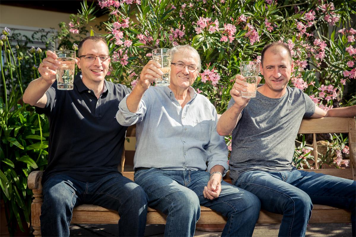 Familie Schäfer vom Weingut Sonnenhof in Bockenheim an der Weinstraße